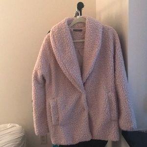 matty m Sherpa coat